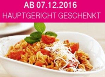 Gratis: Hauptgericht zum Nulltarif bei Vapiano für Telekom-Kunden