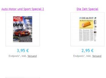 """Mini-Abos: """"Zeit"""", """"Spiegel"""" und mehr mit automatischem Ende (Bild: Verlag)"""