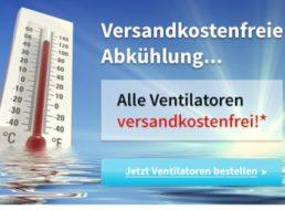 Völkner: Ventilatoren ab 17,99 Euro mit Gratis-Versand