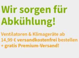 Völkner: Ventilatoren ab 14,99 Euro mit kostenlosem Premium-Versand