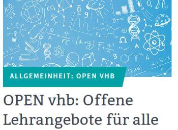"""Gratis: Kurse der """"Virtuellen Hochschule Bayern"""" zum Nulltarif"""