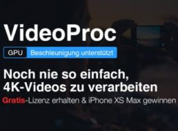 """Gratis: Konvertierungs-Software """"VideoProc"""" mit iPhone-Gewinnspiel für 0 Euro"""