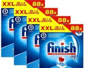 Dealclub: 352 Spülmaschinentabs von Finish für 29,69 Euro frei Haus