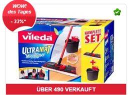 Ebay: Vileda UltraMat komplett Set für 19,99 Euro frei Haus