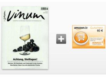 Vinum: Zehn Hefte für zusammen fünf Euro frei Haus
