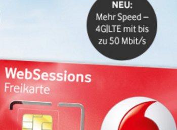 Vodafone: Keine Roaminggebühren und LTE für alle Privatkunden