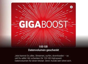 Gratis: 100 GByte-Datenvolumen für Vodafone-Kunden geschenkt