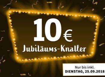 Völkner: Jubiläumsartikel für pauschal zehn Euro, teils mit Gratis-Versand