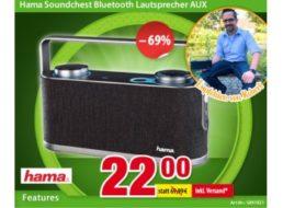 Völkner: Bluetooth-Lautsprecher von Hama für 22 Euro frei Haus
