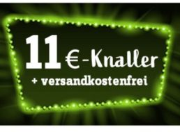 Völkner: 11-Euro-Aktion mit Gratis-Versand bis Freitag
