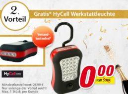 Gratis: Arbeitsleuchte mit Gratis-Versand bei Völkner ab 24,99 Euro Warenwert
