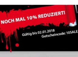 Völkner: 10 Prozent Rabatt auf bereits reduzierte Artikel
