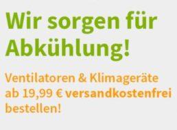 Völkner: Ventilatoren ab 19,99 Euro mit Gratis-Versand