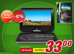 Völkner: Tragbarer DVD-Player mit DVB-T als B-Ware für 33 Euro frei Haus