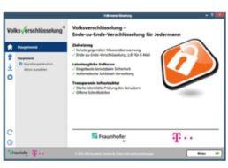 """Gratis: """"Volksverschlüsselung"""" von Telekom und Fraunhofer-Institut"""