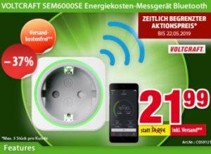 Völkner: SEM6000SE Energiekosten-Messgerät für 21,99 Euro frei Haus