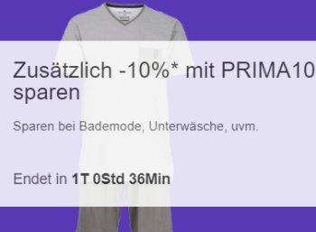 Ebay: Zehn Prozent Wäsche-Rabatt auf über 700 Artikel