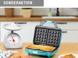 Druckerzubehoer.de: Waffeleisen für 4,97 Euro plus Versand