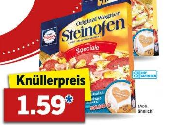 Lidl: Wagner-Pizza für 1,59 Euro, mit Freundschaftswochen kombinierbar