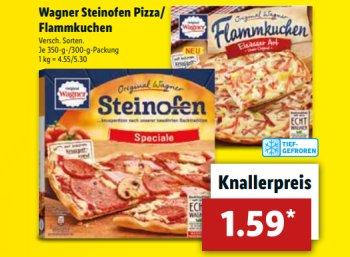 Lidl: Wagner-Pizza und Ritter Sport für zwei Tage mit Rabatt