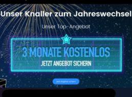 """Gratis: Drei Monate """"Waipu.tv perfect"""" zum Nulltarif bis Silvester"""