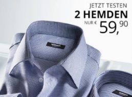 Walbusch: Zwei bügelfreie Hemden mit 5 Jahren Garantie für 59,90 Euro