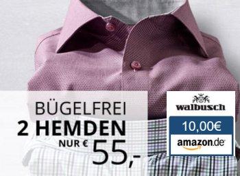 Walbusch: Bügelfreie Hemden im Doppelpack für 45 Euro dank Amazon-Gutschein