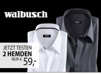 Walbusch: Zwei bügelfreie Hemden nach Wahl für 59 Euro