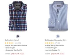 Walbusch: Sale mit zahlreichen Hemden für 25 Euro