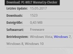WannaCry: Gratis-Tool zum Sicherheits-Check auf dem PC oder Notebook