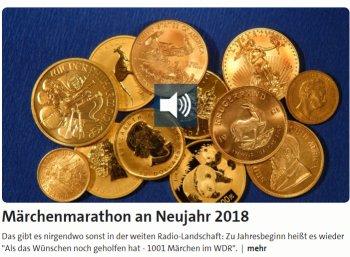 WDR: Märchenmarathon mit 16 Stunden Hörbüchern zum Nulltarif