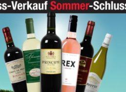 Weinversand: 15 Euro Rabatt auch auf rabattierte Pakete