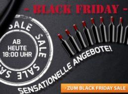 Weinvorteil: Black-Friday-Angebote mit Sechserpaketen ab 15 Euro
