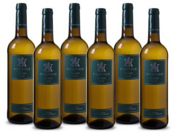 """Weinvorteil: Sechs Flaschen Weißwein """"Fortius"""" für 19,99 Euro frei Haus"""