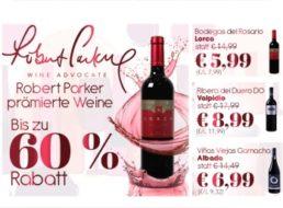 Weinvorteil: Parker-Weinpakete mit prämierten Flaschen ab 5,99 Euro