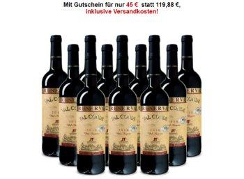 Weinvorteil: Goldprämierter Reserva aus 2010 für 45 Euro im 12er-Pack
