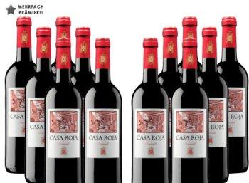 Weinvorteil: Prämiertes Tempranillo-Zwölferpaket für 39,96 Euro frei Haus