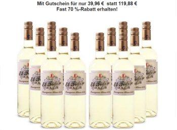 Weinvorteil: Zwölferpaket prämierter Weißwein für 39,96 Euro frei Haus