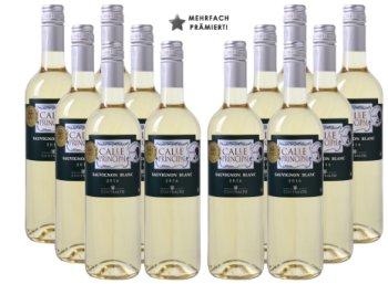 Weinvorteil: Dreifach prämierter Weißwein im Zwölferpaket für 39,96 Euro frei Haus