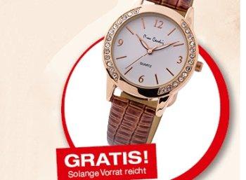 """Gratis: Armbanduhr von """"Pierre Cardin"""" bei Weltbild zum Nulltarif"""