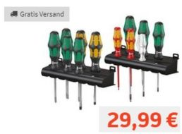 Wera: Zwölfteiliges Schraubendreher-Set zum Bestpreis von 29,99 Euro