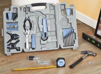 Druckerzubehoer.de: XXL-Werkzeugkoffer mit 132 Teilen für 2,97 Euro