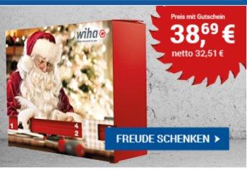 Zoro.de: Wiha-Adventskalender 2017 mit 10 Prozent Rabatt zum Bestpreis
