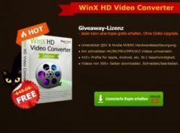 Gratis: WinX HD Video Converter für kurze Zeit zum kostenlosen Download