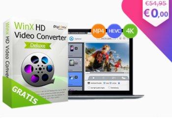 "Exklusiv: ""WinX HD Video Converter Deluxe"" komplett gratis"