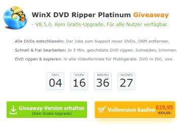"""Gratis: """"Winx DVD Ripper Premium"""" für vier Tage zum Nulltarif"""