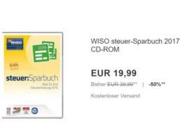 """Ebay: """"WISO Steuer-Sparbuch 2017"""" für 19,99 Euro frei Haus"""