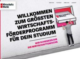 Gratis: Sechs Monate Wiwo Digital für Studis komplett kostenlos