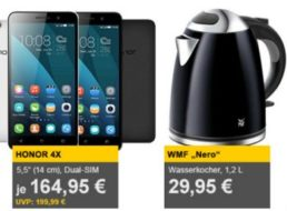 """Allyouneed: Wasserkocher """"WMF Nero"""" für 29,95 Euro frei Haus"""