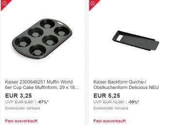 Ebay: WMF-Sale mit Artikeln ab 3,25 Euro frei Haus